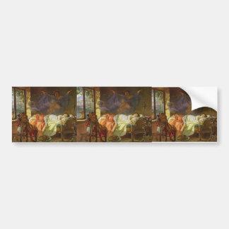 Karl Bryullov- A Dream of a Girl Before a Sunrise Bumper Stickers