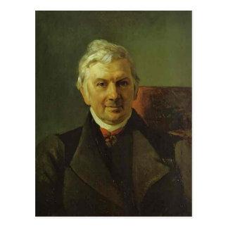 Karl Bryullov- Portrait of the Professor Postcards