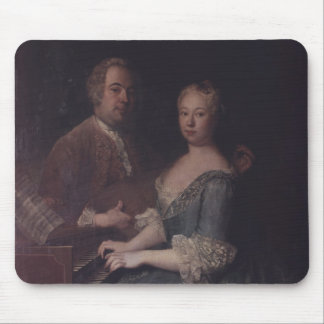 Karl-Heinrich Graun and his wife Anna-Louise Mouse Pad