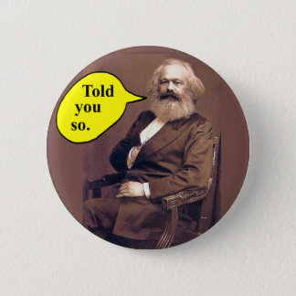 Karl Marx button