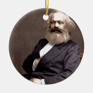 Karl Marx Christmas Ornament