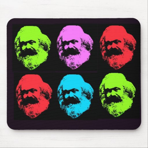 Karl Marx Collage Mousepads