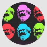 Karl Marx Collage Sticker