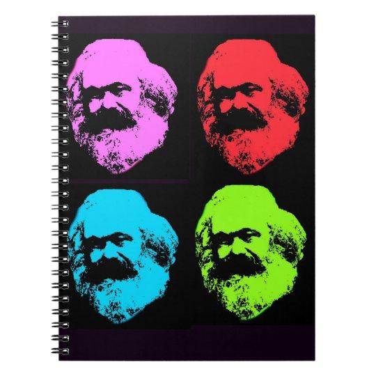 Karl Marx Spiral Notebook