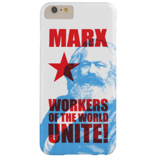 Karl Marx Workers of the World Unite! Barely There iPhone 6 Plus Case