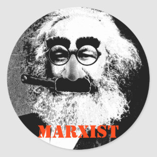 "Karl ""MARXIST"" Stickers Sheet of 20"