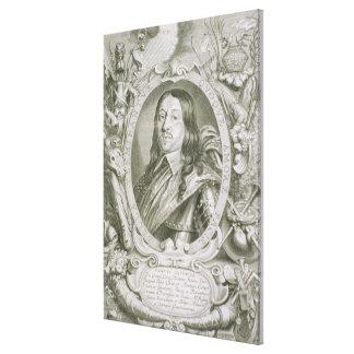 Karl X Gustav (1622-60) King of Sweden, from 'Port Canvas Print