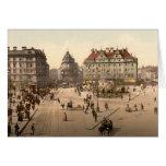 Karlsplatz and Railway Station, Munich, Germany Cards