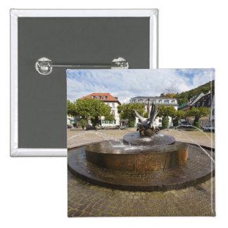 Karlsplatz (Karl's Square), Old Town Heidelberg 15 Cm Square Badge