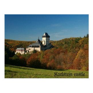 Karlstejn castle Postcard