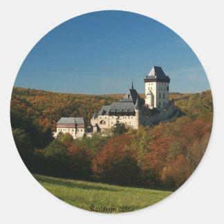 Karlstejn castle Sticker
