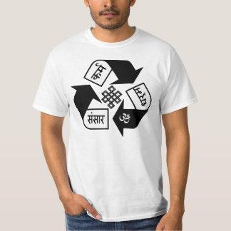 karma, कर्म,dharma, धर्म,Saṃsāra, संसार T-Shirt