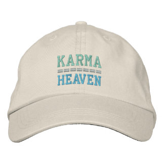 KARMA/HEAVEN cap Embroidered Hat