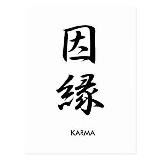 Karma - Kinnen Postcard