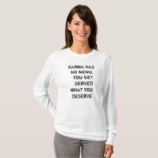 KARMA Longsleeve for women T-Shirt