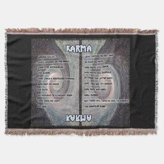 Karma Oboros Tapestry Throw
