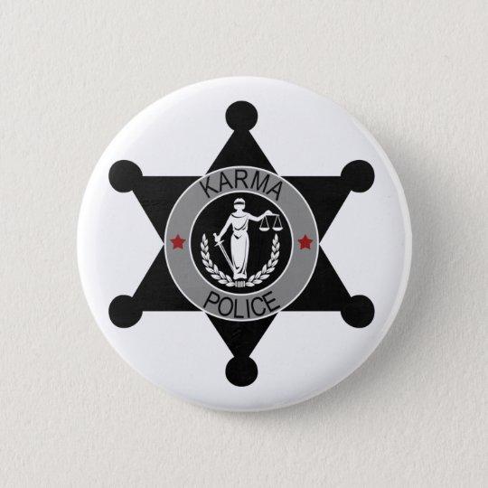 Karma Police Radiohead 6 Cm Round Badge
