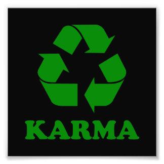 Karma Recycle Art Photo