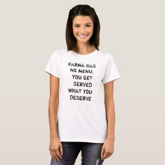 KARMA T-shirt for women