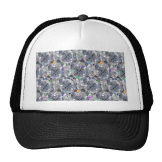 Karma Wheels Stained Glass Style Cap