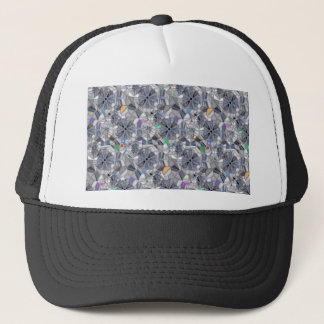 Karma Wheels Stained Glass Style Trucker Hat