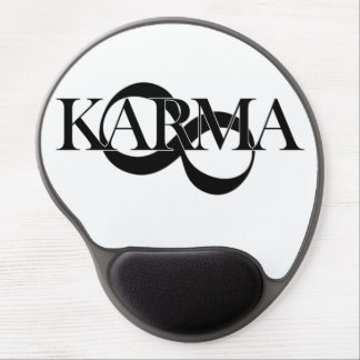 Karma with infinity symbol - so cool! gel mouse pad