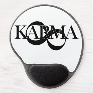 Karma with infinity symbol - so cool! gel mousepad
