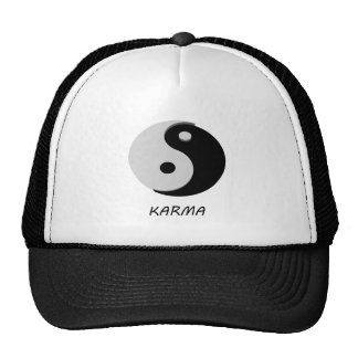Karma Ying Yang Hats