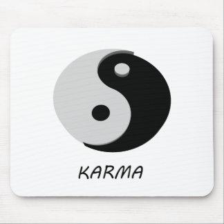 Karma Ying Yang Mouse Pad
