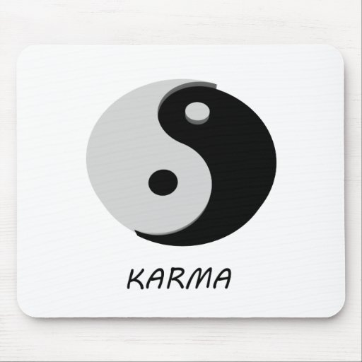 Karma Ying Yang Mousepad