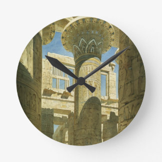 Karnak, c.1866 (w/c on paper) wall clocks