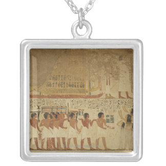 Karnak Temple- Luxor, Egypt Silver Plated Necklace