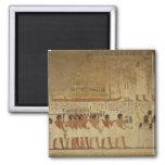 Karnak Temple- Luxor, Egypt Square Magnet