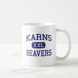 Karns Beavers Middle Knoxville Tennessee Mugs