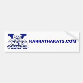 KarrathaKats com Bumper Sticker