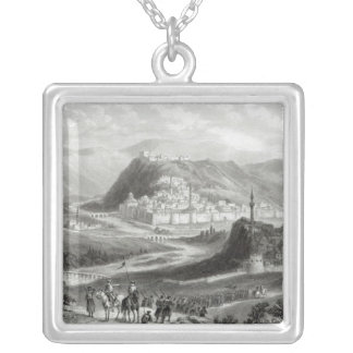 Kars, engraved by J. Godfrey, c.1860 Silver Plated Necklace