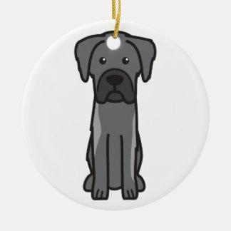 Karst Shepherd Dog Cartoon Christmas Ornaments