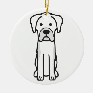 Karst Shepherd Dog Cartoon Christmas Tree Ornament