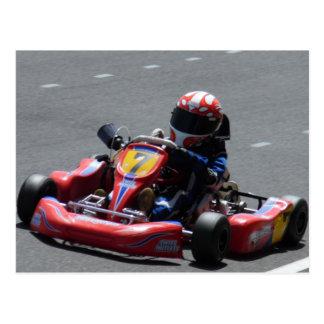 Kart Racer Post Card