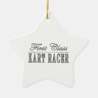 Kart Racing  Kart Racers : First Class Kart Racer Ceramic Star Decoration