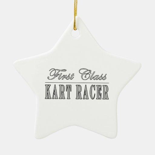 Kart Racing  Kart Racers : First Class Kart Racer Christmas Ornaments