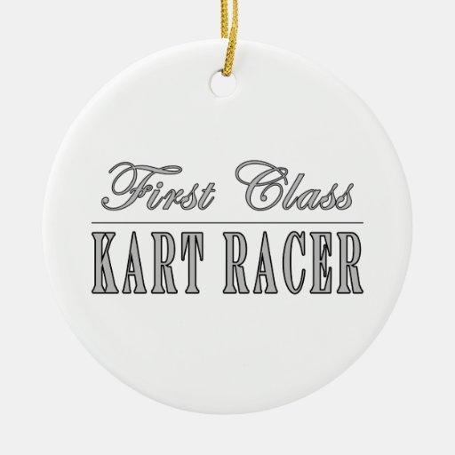 Kart Racing  Kart Racers : First Class Kart Racer Christmas Tree Ornaments