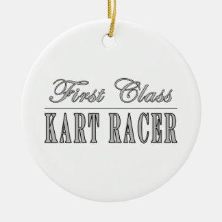Kart Racing  Kart Racers : First Class Kart Racer Round Ceramic Decoration