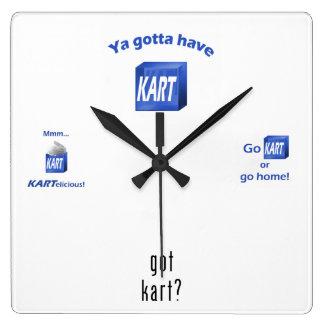KART Square Clock