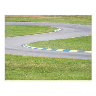 Kart Track Postcards