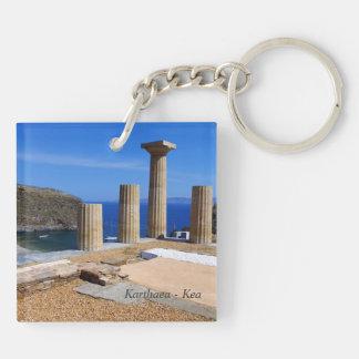 Karthaea - Kea Double-Sided Square Acrylic Keychain