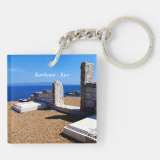 Karthaea - Kea Square Acrylic Key Chain