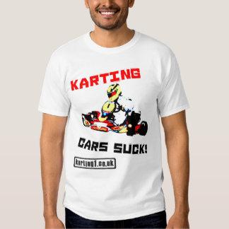 Karting Cars Suck Tee Shirt