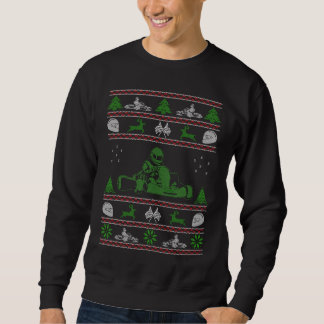 Karting Christmas Ugly Sweater