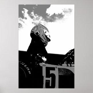 Karting Poster KF1 Karting